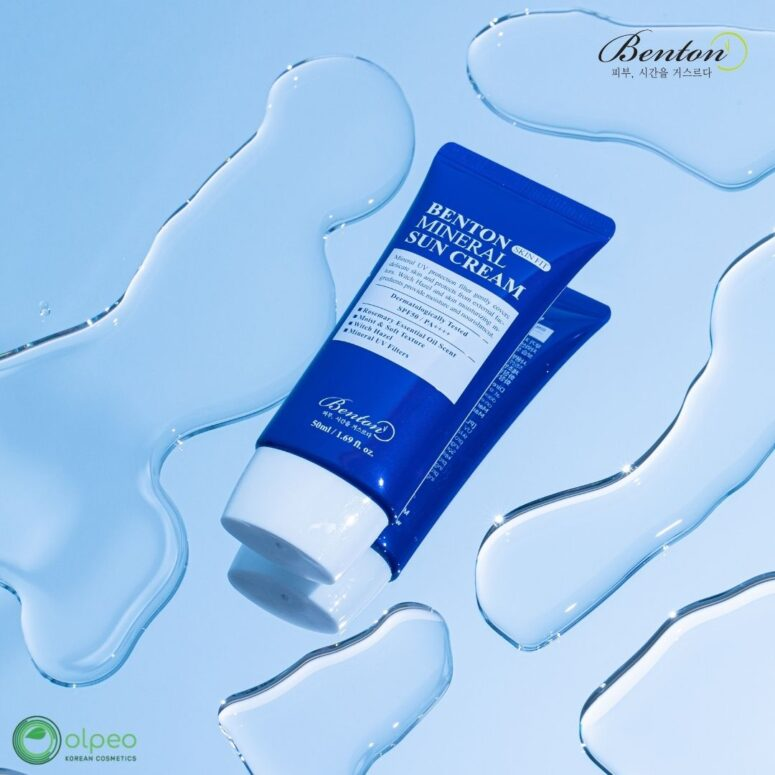 K-beauty product Benton Skin Fit Mineral Sun Cream at Olpeo Korean Cosmetics and Skincare Store